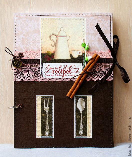 """Кулинарные книги ручной работы. Ярмарка Мастеров - ручная работа. Купить Кулинарная книга """"Мои любимые рецепты"""". Handmade."""