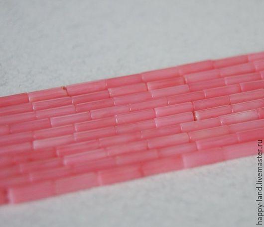 Для украшений ручной работы. Ярмарка Мастеров - ручная работа. Купить Коралл лосось палочки 9х3 мм. Handmade. Коралловый