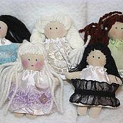 Куклы и игрушки ручной работы. Ярмарка Мастеров - ручная работа Малышки на удачу). Handmade.