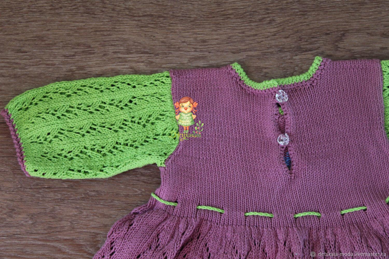 Платье из хлопка Детский каприз