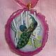 """Кулоны, подвески ручной работы. Ярмарка Мастеров - ручная работа. Купить Кулон """"Райские птицы"""". Handmade. Разноцветный, лаковая миниатюра"""