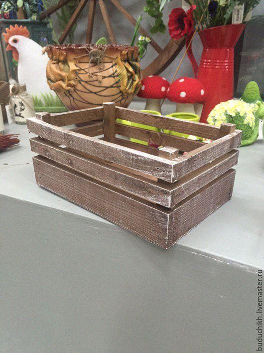 Шкатулки ручной работы. Ярмарка Мастеров - ручная работа. Купить Стильные ящики. Handmade. Белый, ящик, коробка из дерева