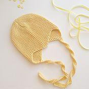 Работы для детей, ручной работы. Ярмарка Мастеров - ручная работа Шапочка для малыша. Handmade.