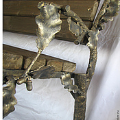 """Для дома и интерьера ручной работы. Ярмарка Мастеров - ручная работа Кованая лавочка """" Дуб"""". Handmade."""