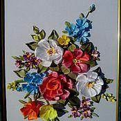 """Картины и панно ручной работы. Ярмарка Мастеров - ручная работа Картина """"Цветы"""". Handmade."""