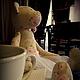 Куклы Тильды ручной работы. Заказать Мишка тильда. Юлия Симонова. Ярмарка Мастеров. Юбка пачка из фатина, мишка тильда