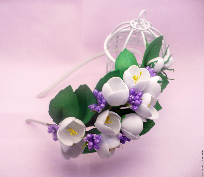 Цветок для ободка