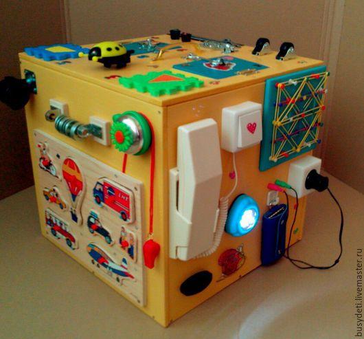 Развивающие игрушки ручной работы. Ярмарка Мастеров - ручная работа. Купить Пиратский бизиборд. Handmade. Бежевый, бизиборд екатеринбург
