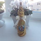 """Сувениры и подарки ручной работы. Ярмарка Мастеров - ручная работа оформленная бутылка """"Таинство"""". Handmade."""