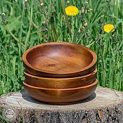 Для дома и интерьера handmade. Livemaster - original item Pine Wooden Plates (3#3. Handmade.