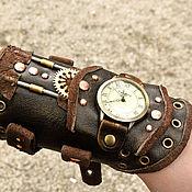 Украшения ручной работы. Ярмарка Мастеров - ручная работа Наручные часы, стимпанк. Handmade.