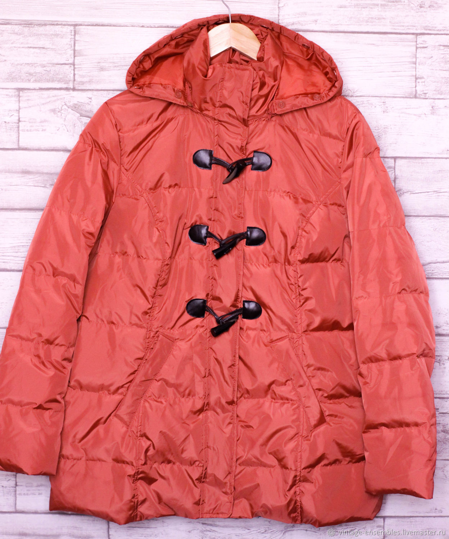 Винтаж: Лёгкий пуховик - стеганая куртка, Одежда винтажная, Новосибирск,  Фото №1