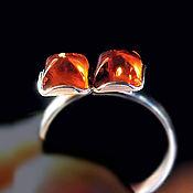 Украшения handmade. Livemaster - original item Amber. Ring