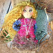 Куклы и игрушки ручной работы. Ярмарка Мастеров - ручная работа Лето красное..Авторская чердачная кукла. Handmade.