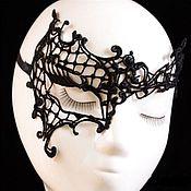 Одежда ручной работы. Ярмарка Мастеров - ручная работа Кружевная маска Полумаска. Handmade.