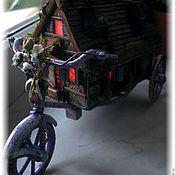 Куклы и игрушки ручной работы. Ярмарка Мастеров - ручная работа Дом на колесах. Handmade.