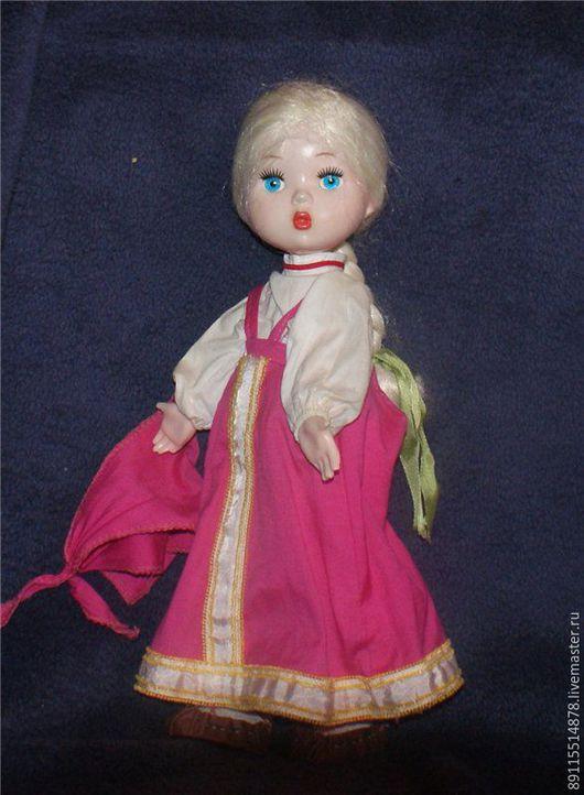 Коллекционные куклы ручной работы. Ярмарка Мастеров - ручная работа. Купить Кукла из СССР Машенька ЛенИгрушка Рост 33 см. Handmade.