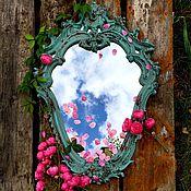 """Для дома и интерьера ручной работы. Ярмарка Мастеров - ручная работа Зеркало """"Воспоминания"""". Handmade."""
