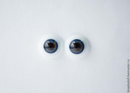 Куклы и игрушки ручной работы. Ярмарка Мастеров - ручная работа. Купить Глаза Лауша 18,20 мм. Handmade. Синий