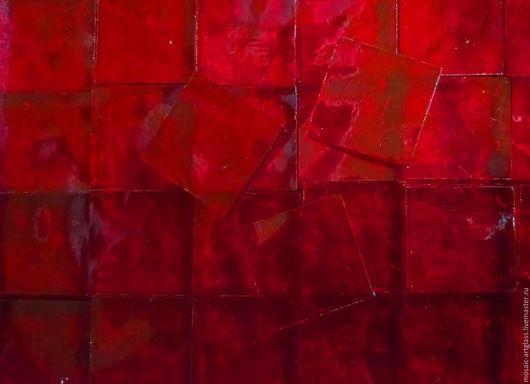 Мозаика для творчества. Рубиновый.