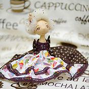 Куклы и игрушки ручной работы. Ярмарка Мастеров - ручная работа Конфетно- пироженная богиня. Handmade.
