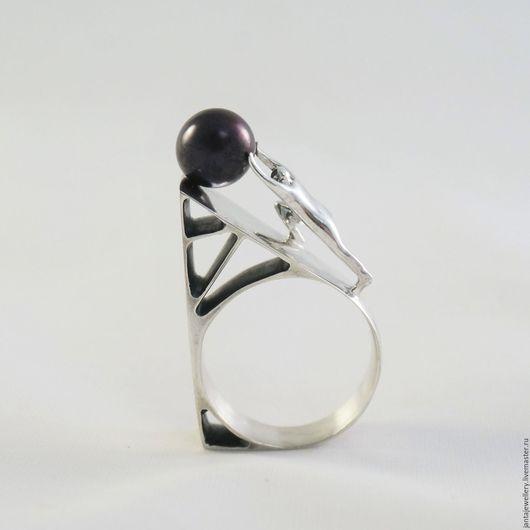 """Кольца ручной работы. Ярмарка Мастеров - ручная работа. Купить Кольцо """"Сизиф счастлив"""". Handmade. Сизиф, необычное кольцо"""