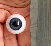 Материалы для творчества ручной работы. Ярмарка Мастеров - ручная работа глаза Лауша 22 мм N5. Handmade.
