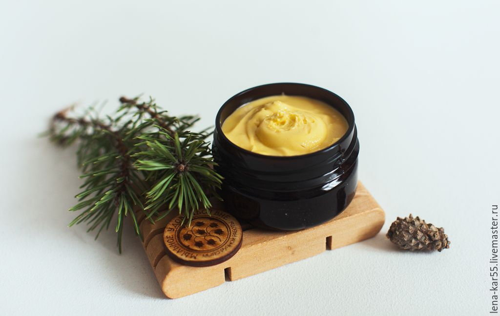 winter cream for the hands with lanolin Soap fun Fair Masters