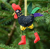 Подарки к праздникам handmade. Livemaster - original item Christmas tree toy