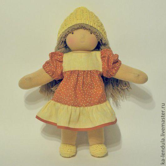 Вальдорфская игрушка ручной работы. Ярмарка Мастеров - ручная работа. Купить Эмили, кукла в вальдорфском стиле. Handmade. Вальдорфская кукла
