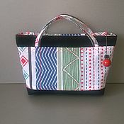 Сумки и аксессуары handmade. Livemaster - original item Beauticians: Cosmetic bag 12 pockets Geometry. Handmade.