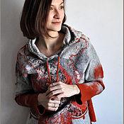 """Одежда ручной работы. Ярмарка Мастеров - ручная работа Свитер """"Осенний блюз"""". Handmade."""