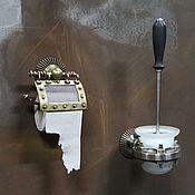 Для дома и интерьера handmade. Livemaster - original item Set for the toilet