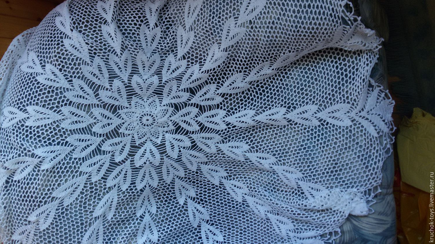 Crochet Tablecloth Shop Online On Livemaster With Shipping