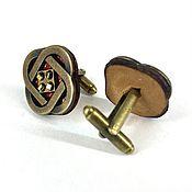 Украшения handmade. Livemaster - original item Cufflinks: Celtic knot. Handmade.