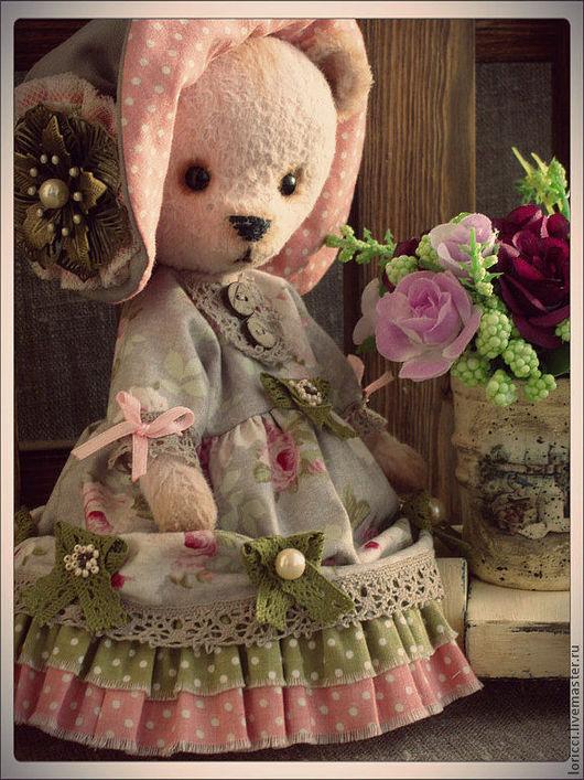 Мишки Тедди ручной работы. Ярмарка Мастеров - ручная работа. Купить Когда приходит Рождество...Лапушка. Handmade. Мишка