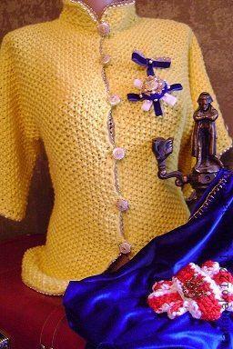 """Пиджаки, жакеты ручной работы. Ярмарка Мастеров - ручная работа. Купить """"The Queen Elizabeth""""эксклюзивный жакет ручной работы. Handmade."""