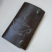 Сумки и аксессуары handmade. Livemaster - original item Housekeeper leather