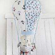 """Для дома и интерьера ручной работы. Ярмарка Мастеров - ручная работа Воздушный шар """"На встречу морю"""". Handmade."""