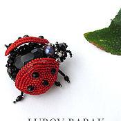 """Украшения ручной работы. Ярмарка Мастеров - ручная работа Брошь """"Ladybird"""". Handmade."""