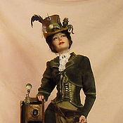 """Куклы и игрушки ручной работы. Ярмарка Мастеров - ручная работа """"Октопус миссис Тальбот"""". Handmade."""