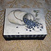 """Для дома и интерьера ручной работы. Ярмарка Мастеров - ручная работа Короб """"Любимая ягодка"""". Handmade."""