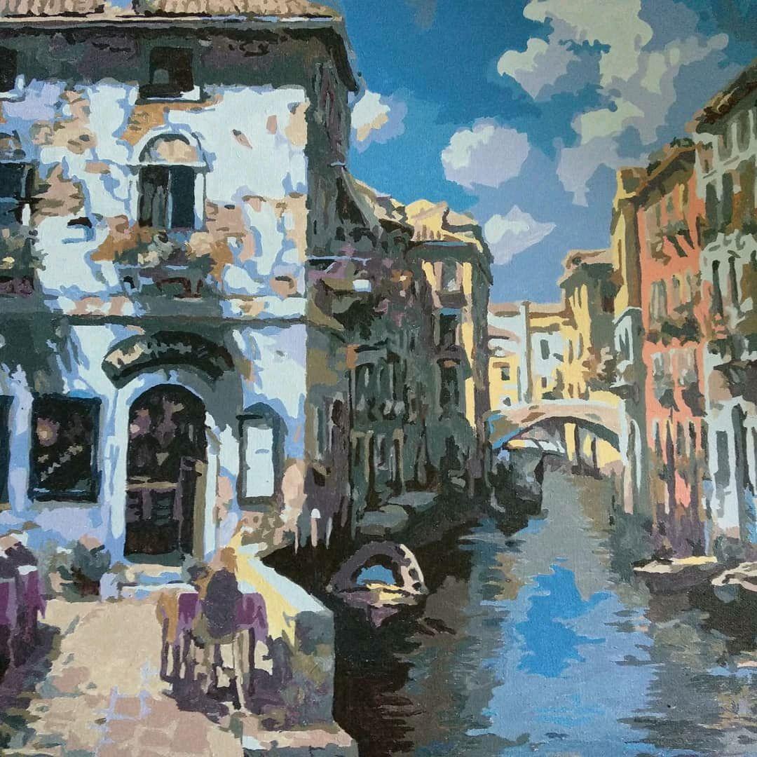 Венеция.Канал.Кафе, Украшения, Москва,  Фото №1