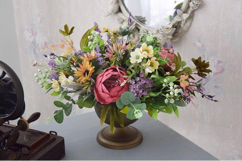 Букет из искусственных цветов, Цветы, Волгоград,  Фото №1