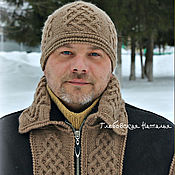 Аксессуары handmade. Livemaster - original item Hat mens