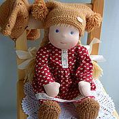 Куклы и игрушки ручной работы. Ярмарка Мастеров - ручная работа Катенька, вальдорфская кукла. Handmade.