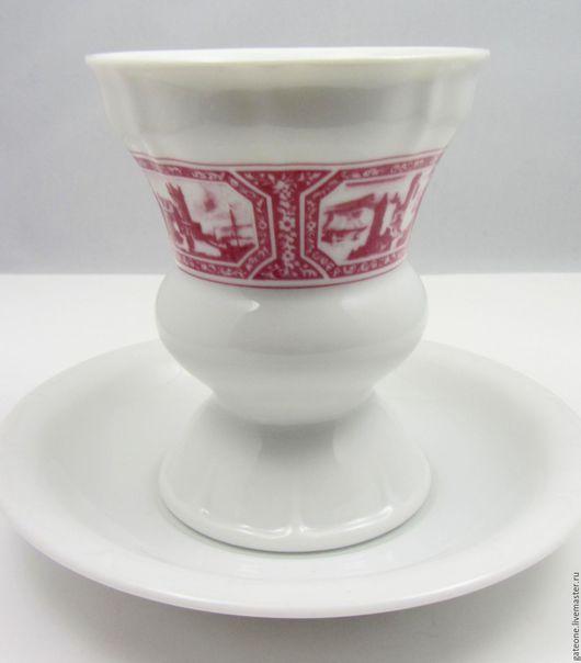 Винтажная посуда. Ярмарка Мастеров - ручная работа. Купить Heinrich  Бокалы для десерта , мороженного, кофе гляссе. Handmade. Немецкий фарфор
