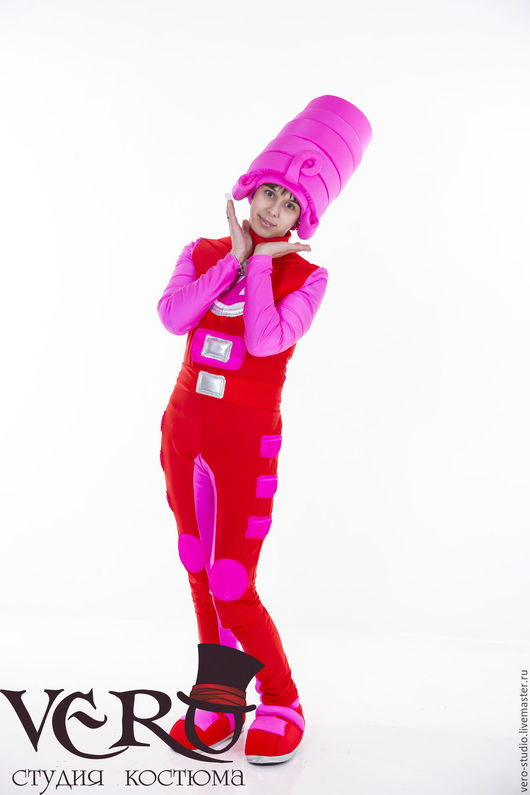 Карнавальные костюмы ручной работы. Ярмарка Мастеров - ручная работа. Купить Карнавальный костюм Фиксика Маси. Handmade. Карнавальный костюм