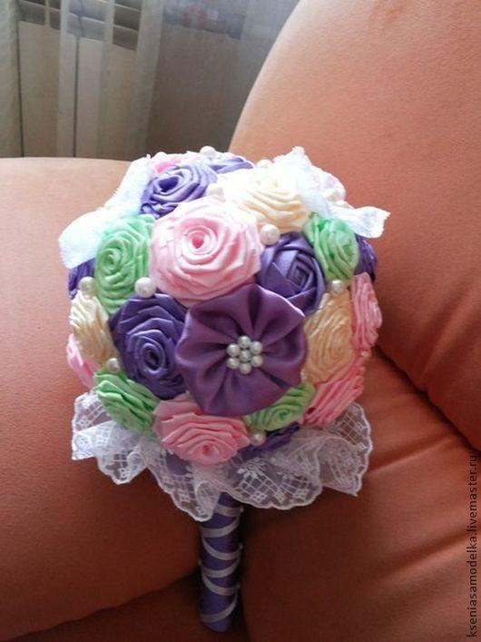 Свадебные цветы ручной работы. Ярмарка Мастеров - ручная работа. Купить Букет свадебный. Handmade. Букет невесты, свадьба, букет