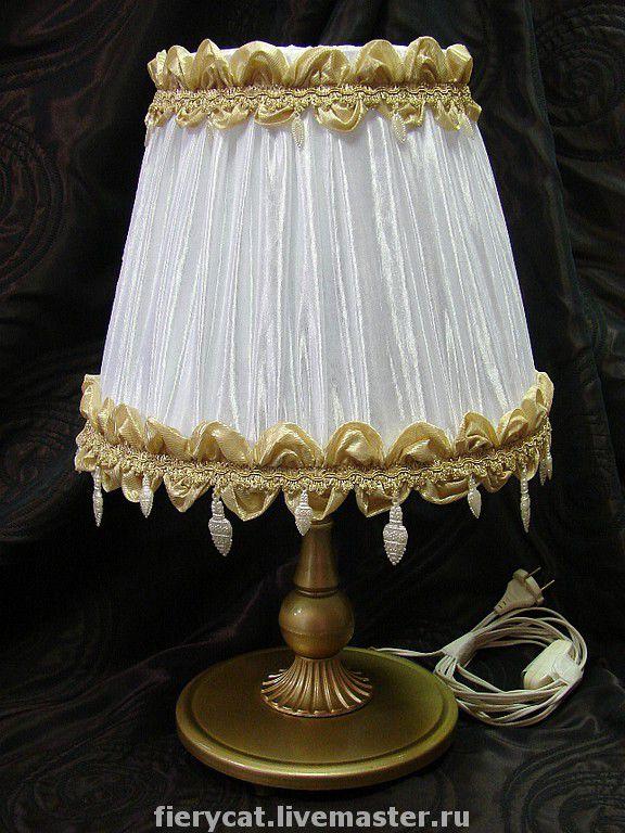 Абажур на настольную лампу своими руками